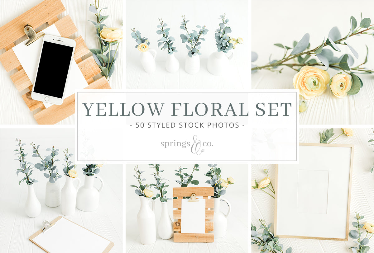 Yellow Floral Bundle