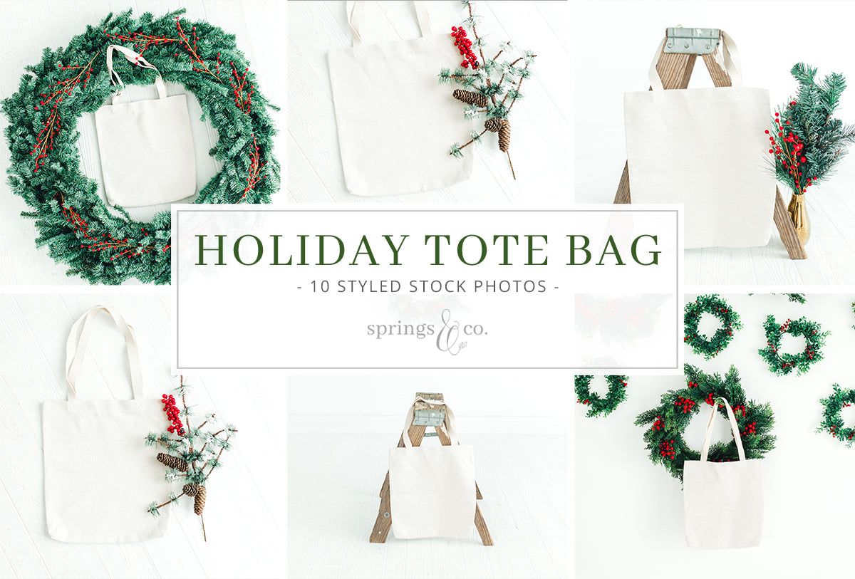 Holiday Tote Bag Bundle