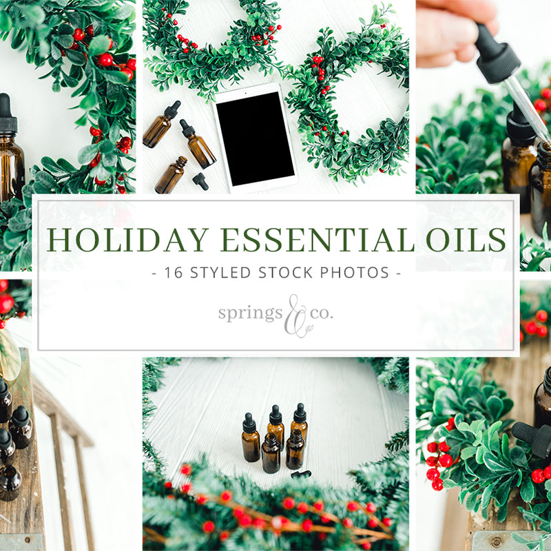 Holiday Essential Oils Bundle