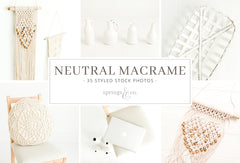 Neutral Macrame Bundle