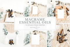Macrame Essential Oils Bundle