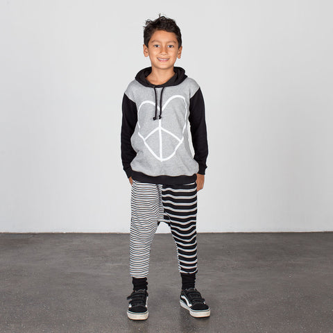 LOVE PEACE SWEATER HOODIE