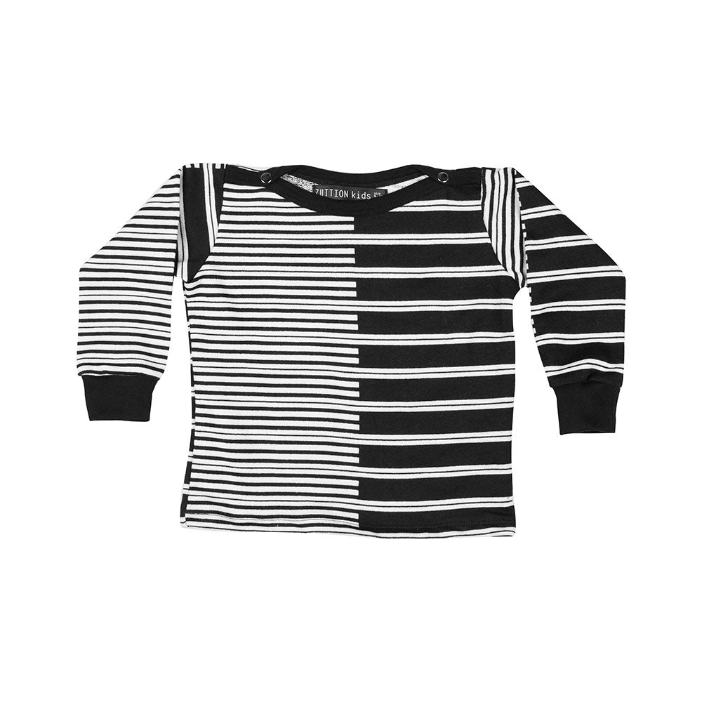 BABY 2 STRIPE SWEATER