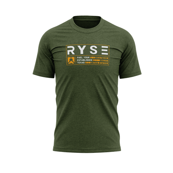 Established Tee | Military Green