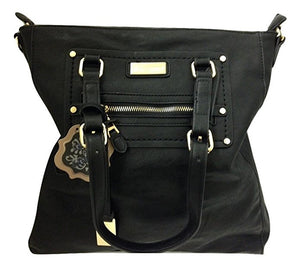 Coco + Carmen Cassia Black Hobo Shoulder Bag - TGC Toys and Gifts