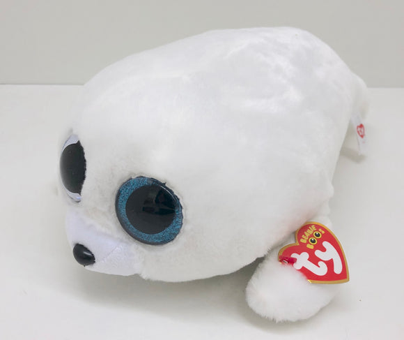 Ty Beanie Boos Icy the Seal Medium Plush Toy - 9