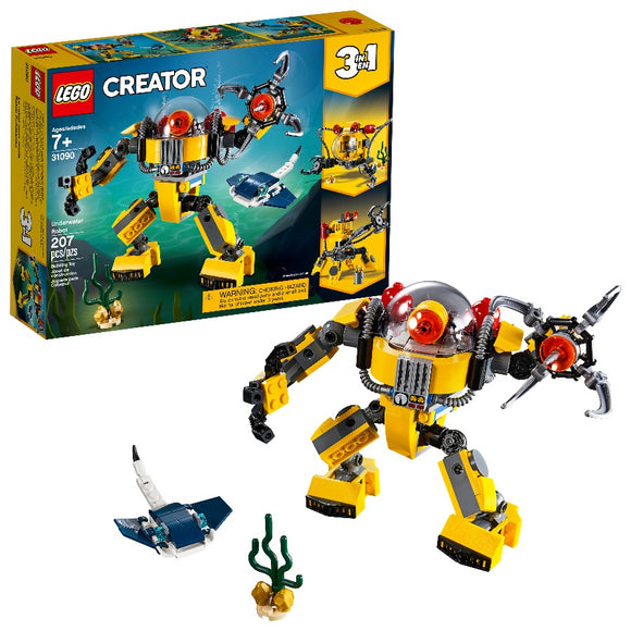 LEGO Creator Underwater Robot - TGC Toys and Gifts