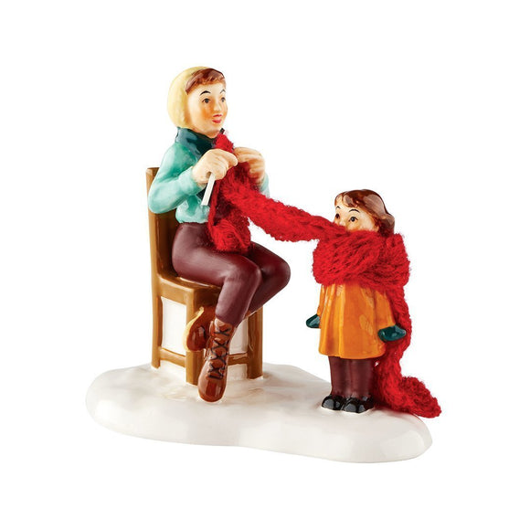 Department 56 Snow Village Mother's Little Helper Accessory-TGC Toys and Gifts