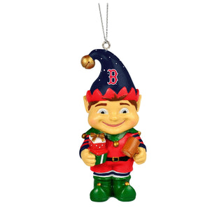 MLB Boston Red Sox Elf Ornament - TGC Toys and Gifts