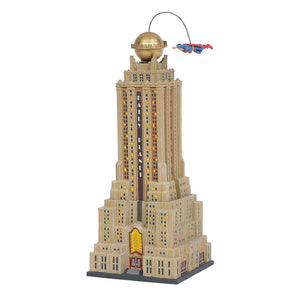 Department 56 Hot Properties The Daily Planet Lighted Building - TGC Toys and Gifts