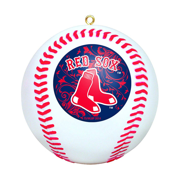 MLB Boston Red Sox Mini Replica Baseball Ornament - TGC Toys and Gifts
