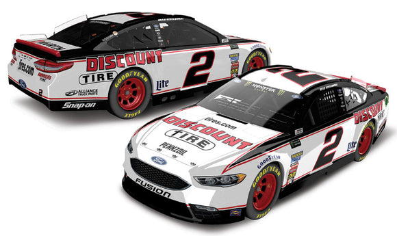 NASCAR Brad Keselowski #2 Discount Tire 1/64 Kids Diecast Car 2018-TGC Toys and Gifts
