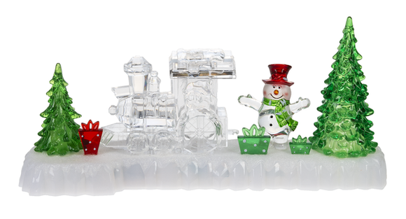 Ganz Light Up Musical Train with Christmas Tree - TGC Toys and Gifts