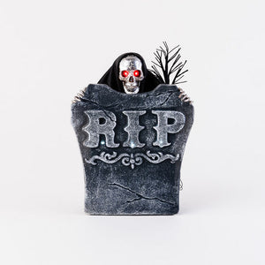 One Hundred 80 Degrees Halloween Animated Skeleton with Tombstone - TGC Toys and Gifts