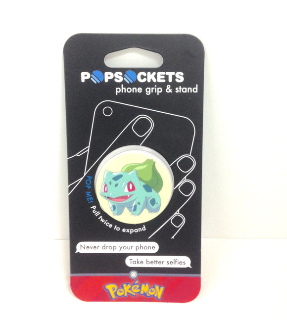 Popsocket Pokemon Bulbasaur Expanding Phone Grip & Stand - TGC Toys and Gifts