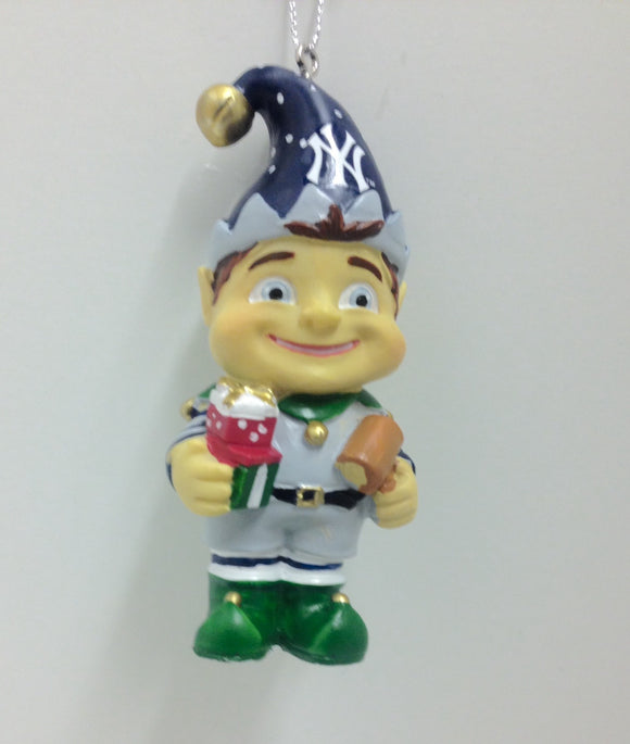New York Yankees Elf Ornament - TGC Toys and Gifts