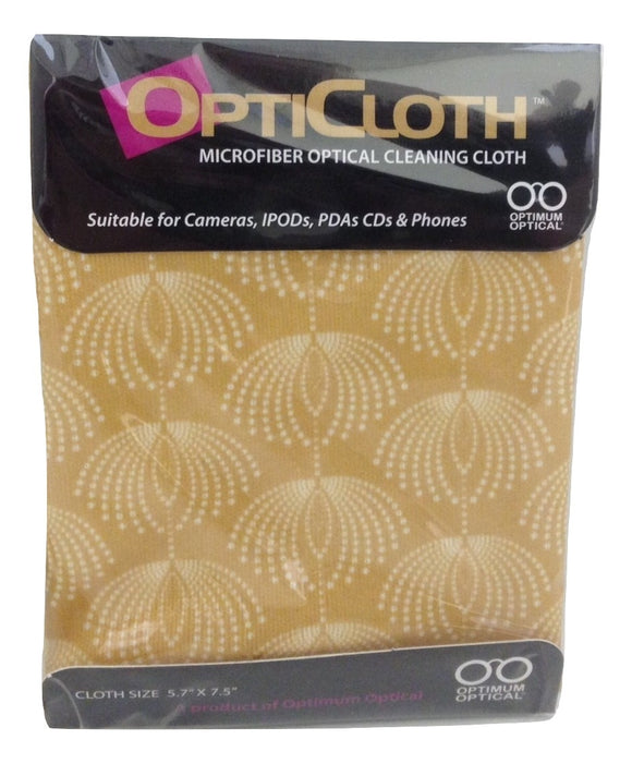 Optimum Optical Golden Showers OptiCloth Microfiber Optical Cleaning Cloth - TGC Toys and Gifts