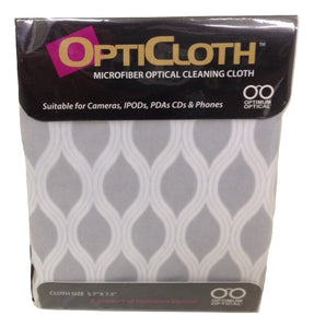 Optimum Optical Curves OptiCloth Microfiber Optical Cleaning Cloth - TGC Toys and Gifts