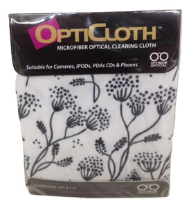Optimum Optical Stems Design OptiCloth Microfiber Optical Cleaning Cloth - TGC Toys and Gifts