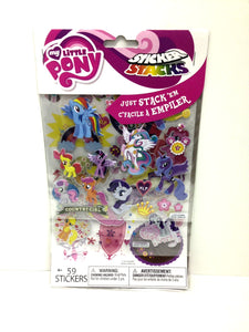 My Little Pony Sticker Stacks - TGC Toys and Gifts