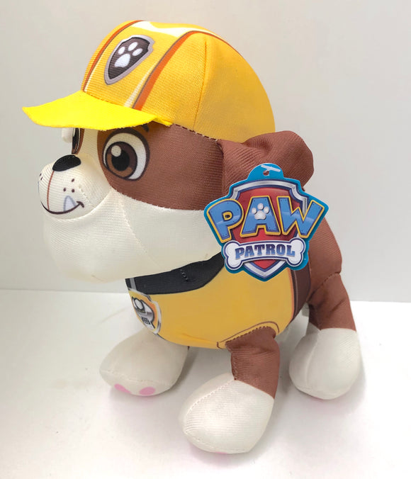 Paw Patrol Rubble Plush Toy - 8