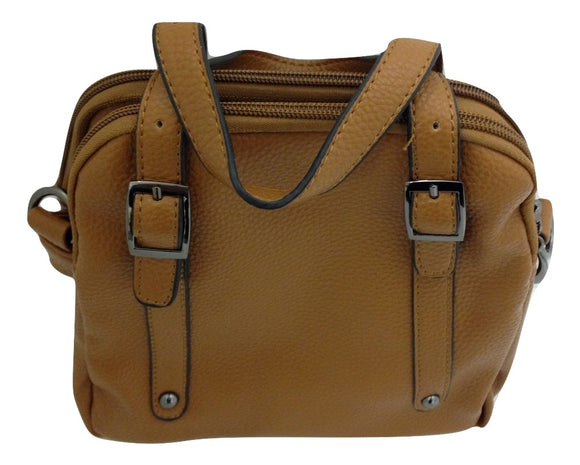 Good Bead Crossbody/Satchel Light Brown Handbag - TGC Toys and Gifts
