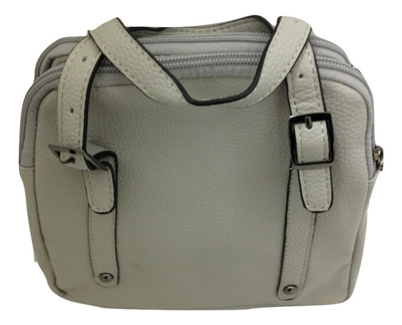 Good Bead Crossbody/Satchel Grey Handbag - TGC Toys and Gifts