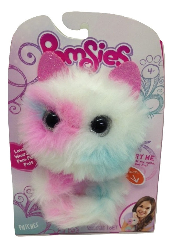 Pomsies Patches Wearable Pom Pom Plush Pets - TGC Toys and Gifts
