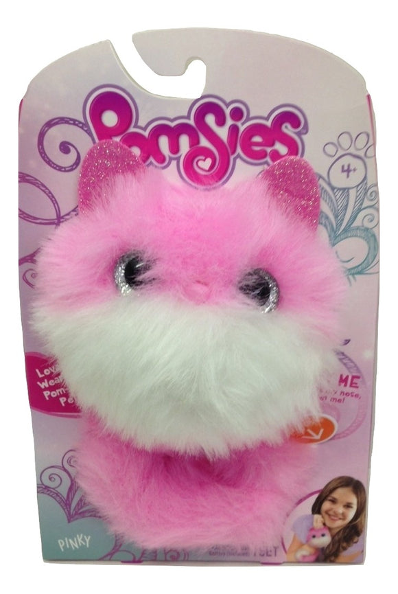 Pomsies Pinky Wearable Pom Pom Plush Pets - TGC Toys and Gifts