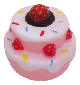 Squishy Cake with Strawberries Soft and Slow Rising Scented Squishy Toy - TGC Toys and Gifts