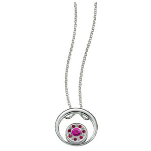 Kameleon Jewelry Open Round Pendant Necklace without JewelPop