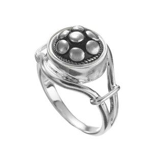 Kameleon Jewelry Open Side Sterling Silver Ring-TGC Toys and Gifts