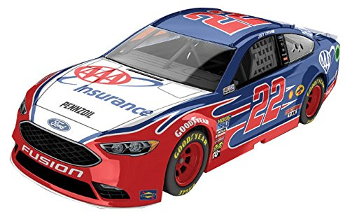 NASCAR Joey Logano #22 AAA Insurance 1/64 Kids Hardtop Car 2018-TGC Toys and Gifts
