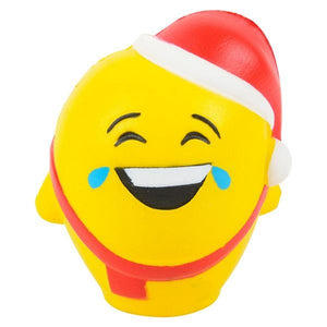 Holiday Emoticon Squishy Soft & Slow Rising Squishy Toy