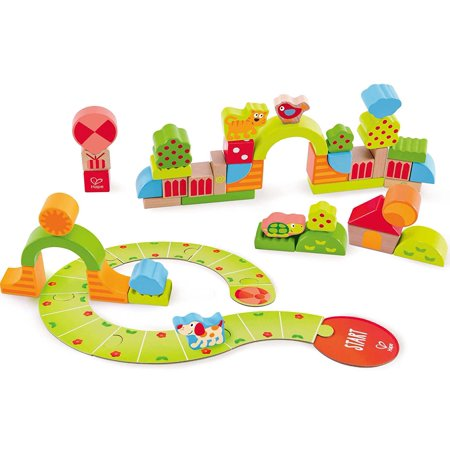 Hape Sunny Valley Play Wood Toy Blocks - TGC Toys and Gifts