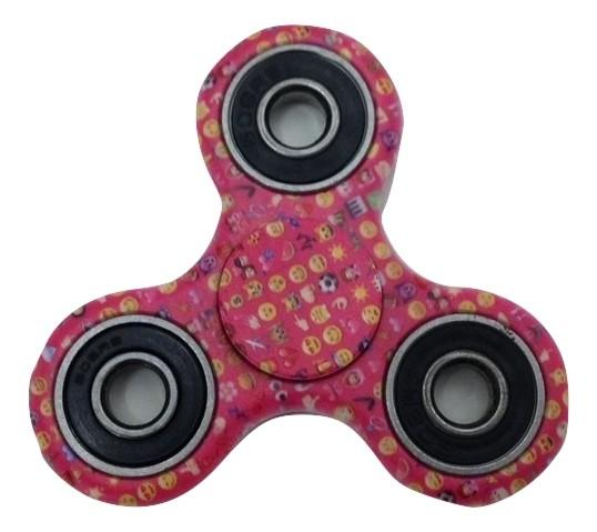 Fidget Spinner Pink Emoji Design Hand Spinner Toy-TGC Toys and Gifts