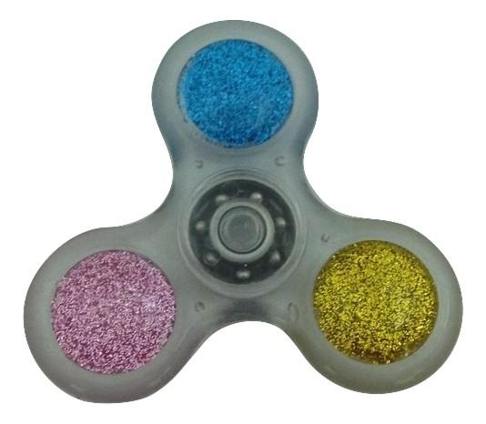 Fidget Spinner Silver Glitter Hand Spinner Toy-TGC Toys and Gifts