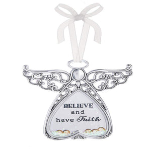 Ganz Heavenly Angels Believe and have Faith Ornament - TGC Toys and Gifts