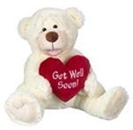 Ganz Get Well Soon! Plush Teddy Bear-TGC Toys and Gifts