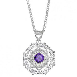 Kameleon Jewelry Filigree Pendant Necklace-TGC Toys and Gifts