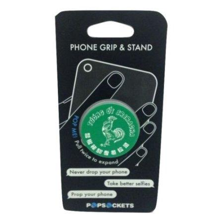 PopSocket Green Sriracha Expanding Phone Grip & Stand-TGC Toys and Gifts