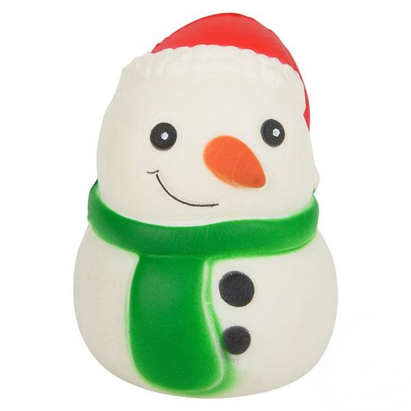 Toy Network Snowman Squishy Soft & Slow Rising Squishy Toy