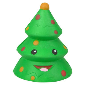 Toy Network Christmas Tree Squishy Soft & Slow Rising Squishy Toy