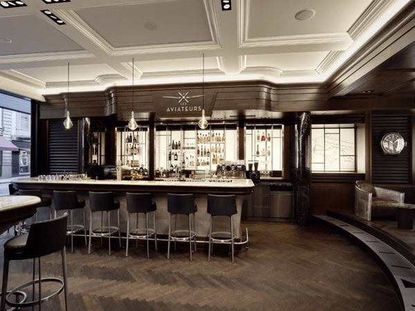 IWC's Aviation Inspired Whisky Bar