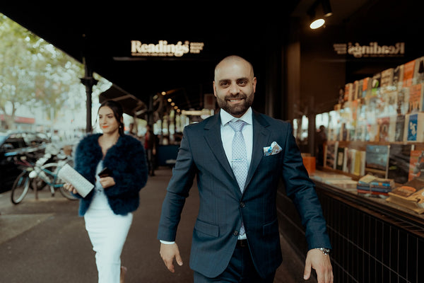 Sarah & John's Wedding | Men's Wedding Suits Melbourne