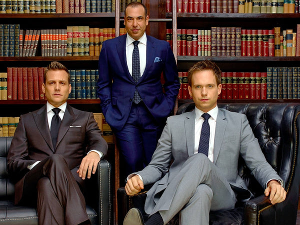 Men's Work Suits and Formal Wear for Lawyers