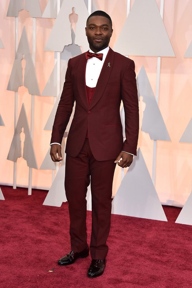 David Oyelowo is our pick for the best dressed at the 87th Academy Awards