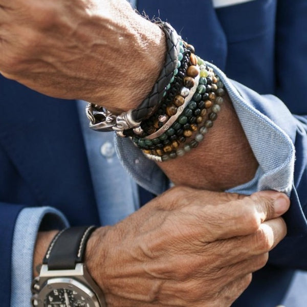 Wearing Mens Bracelets, Accessories and Jewellery
