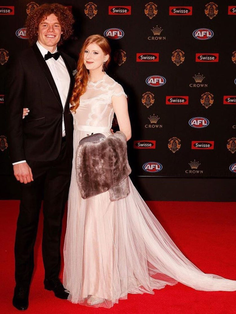 Ben Brown and Hester - Brownlow Medal Red Carpet 2017