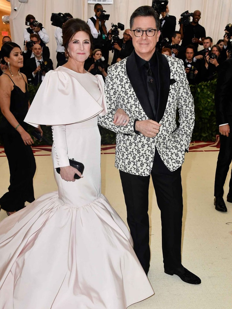 Evelyn McGee Colbert and Stephen Colbert - 2018 Met Gala